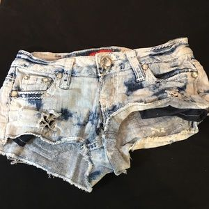 Zana di Jeans distressed Shorts Size 1 (XS) EUC